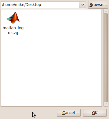 MATLAB GNOME integration 5