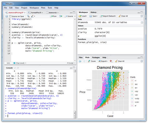 RStudio on Windows